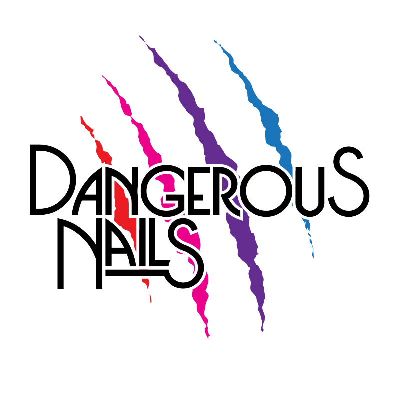 Logo Design Dangerous Nails