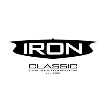 Iron Classic Car Restoration Logo by Impsoul